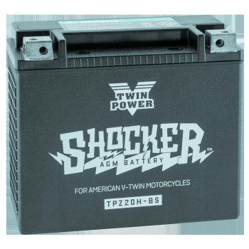 Twin Power Shocker™ Batteries; YTX20 Battery; O.E.M. 65991-82B
