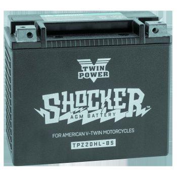 Twin Power Shocker™ Batteries; YTX20L Battery; O.E.M. 65989-97A