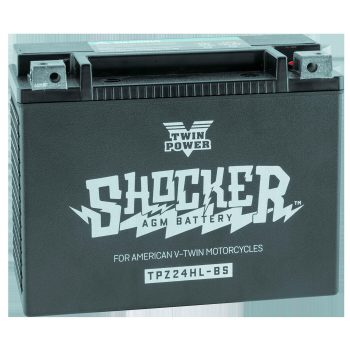 Twin Power Shocker™ Batteries; YTX24L Battery; O.E.M. 66010-82A