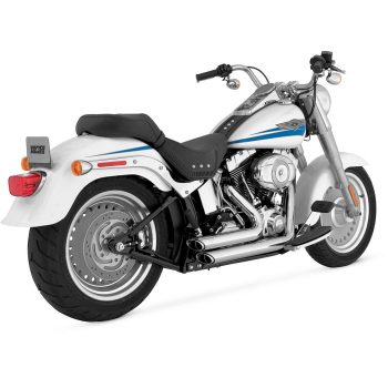 Vance & Hines Shortshots Staggered for V-Twin; Chrome
