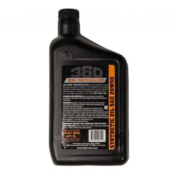 360 Twin™ 20w50 Synthetic Oil